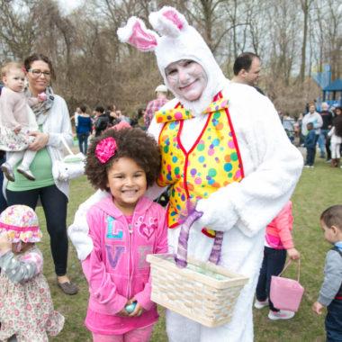Easter Bunny hops into Tuckahoe